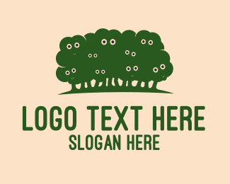 Forest - Sheep Forest logo design
