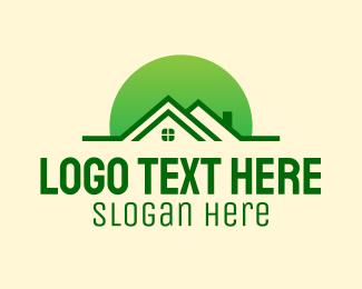 Realtor - Green House Realtor logo design