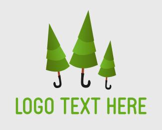 Weather - Rainforest logo design