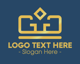 Golden - Golden Crown logo design