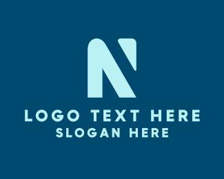 Letter N - Digital Letter N logo design