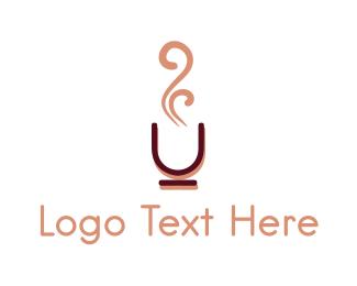 Aroma - Coffee Cup logo design