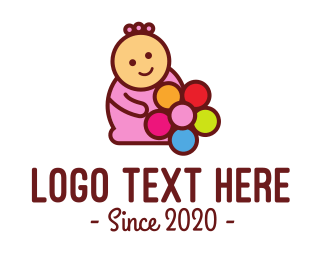 Child Care - Kids Birthday Party logo design