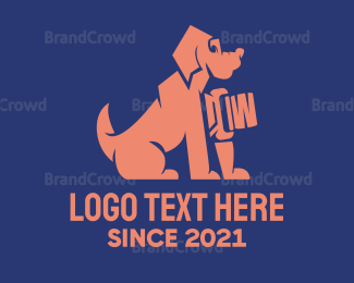 Dachshund - Dog Surveillance  logo design