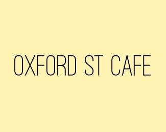 Cafe text logo