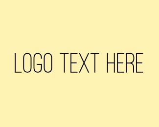 Bachelorette - Elegant San Serif Text logo design