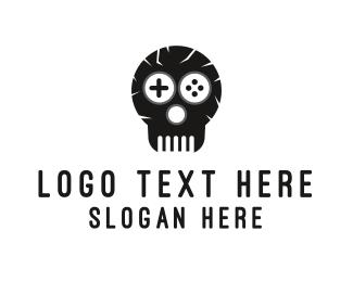 """Game Skull Logo"" by lazeefish"