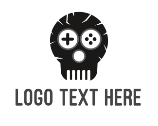 Bone - Game Skull Logo logo design