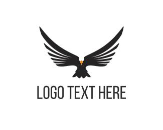Whiskey - Black Eagle logo design