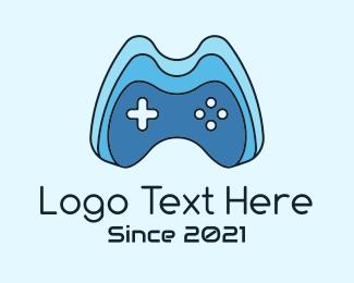 Control Pad - Tech Gamer Joystick logo design