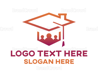 Engineer - Gradient Graduates logo design