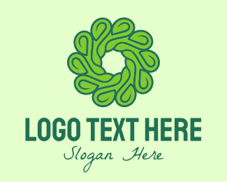 Products - Natural Green Flower logo design