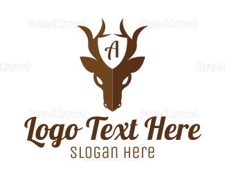Antelope - Guard Deer logo design
