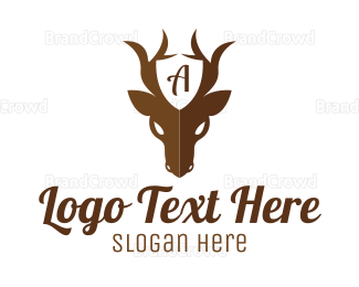 Armor - Guard Deer logo design