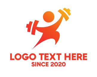 Trainer - Physical Fitness Trainer logo design