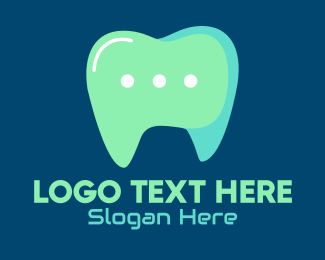 Contactless - Dentist Online Chat  logo design