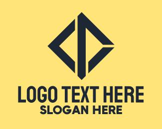Company - Black CD Company logo design