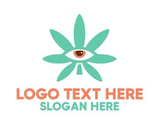 Specs - Cannabis Eye logo design
