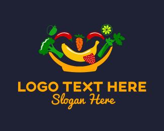 Happy - Happy Bowl logo design