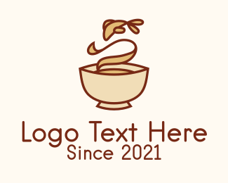 Restaurant - Fish Soup Bowl logo design