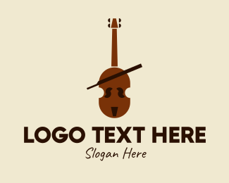 Music Lessons - Classical Cello Music  logo design