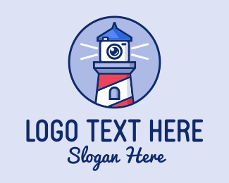 Camera Shop - Lighthouse Camera  logo design