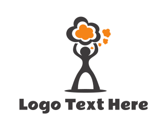 Intelligent - Strong Idea logo design
