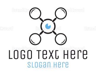Search - Eye Drone logo design