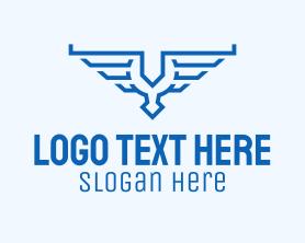 Travel - Aviation Wings Crest logo design