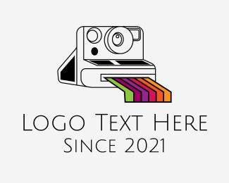 Photograph - Vintage Photograph Camera logo design