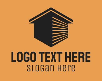 Warehouse - Storage Unit Building  logo design