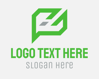 Abstract Chat Logo