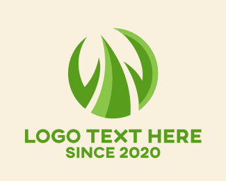 Growing - Growing Grass Agriculture  logo design