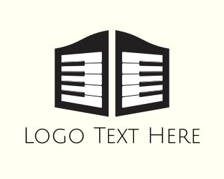 Piano - Piano Saloon logo design