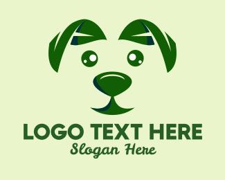 Dog Food - Green Natural Dog  logo design