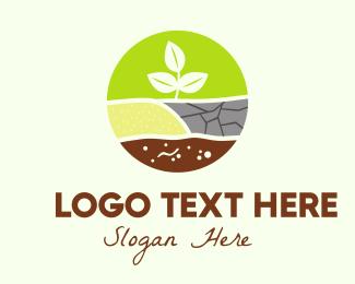 Planting - Agricultural Planting logo design