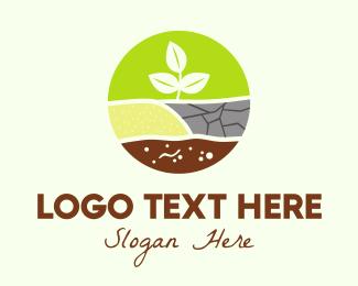 Agriculture - Agricultural Planting logo design