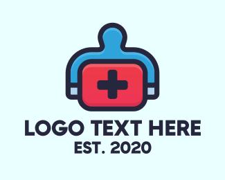 Paramedic - Emergency Medical Kit logo design