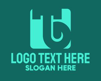 Bt - Simple Green Letter TB logo design