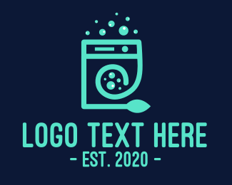 Hygiene - Eco Washing Machine logo design
