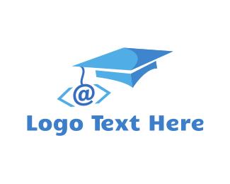 Programing - Coder Graduation logo design