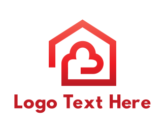 Storage - Cloud Home logo design