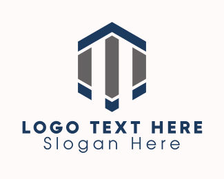 Company - Corporate Hexagon Company logo design