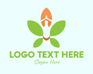 Yoga - Nature Yoga Meditation logo design