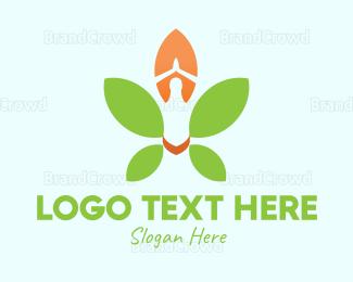 Meditation - Nature Meditation logo design