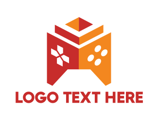 Games - Tower Game Controller logo design