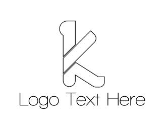 Letter K - Letter K logo design