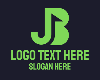 Putter - Green Flag JB logo design