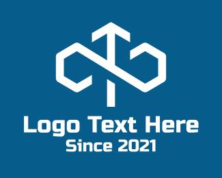 Logistics - Infinite Loop Arrow Logistics  logo design