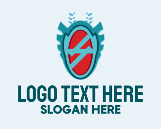 Indigenous - Abstract Gaming Badge  logo design